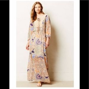 Anthropologie Oswego Maxi Dress Sz Small